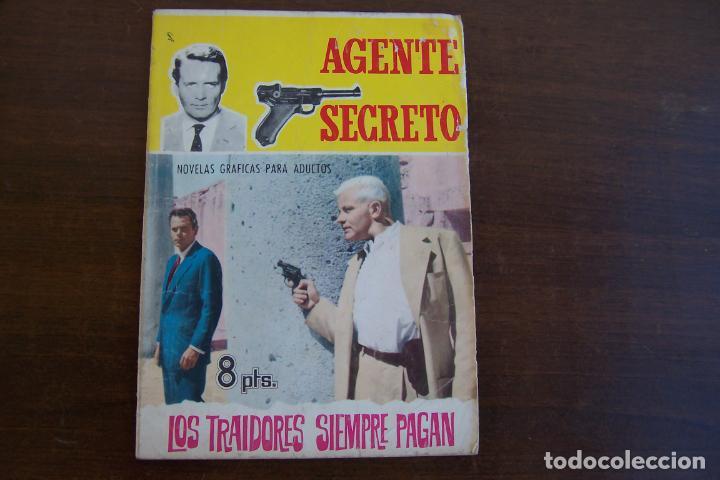 Tebeos: ferma.- agente secreto, lote - Foto 6 - 222412850