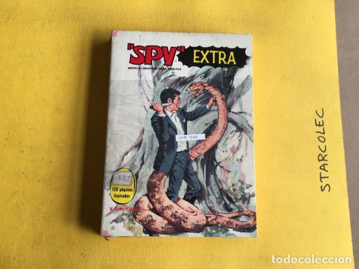Tebeos: SPY EXTRA. LOTE DE 2 NUMEROS (VER DESCRIPCION) EDITORIAL FERMA AÑO 1969 - Foto 2 - 210011575