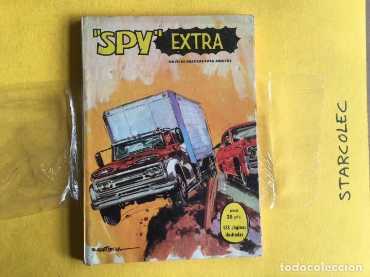 Tebeos: SPY EXTRA. LOTE DE 2 NUMEROS (VER DESCRIPCION) EDITORIAL FERMA AÑO 1969 - Foto 3 - 210011575