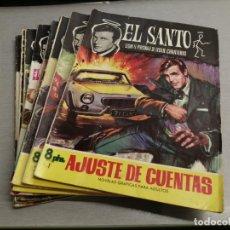 Tebeos: EL SANTO / LESLIE CHARTERIS / COMPLETA 8 NÚMEROS / FERMA 1965. Lote 210728626