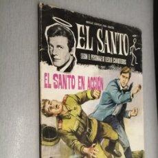 Tebeos: EL SANTO Nº 5: EL SANTO EN ACCIÓN / LESLIE CHARTERIS / FERMA 1965. Lote 210733300