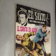 Tebeos: EL SANTO Nº 5: EL SANTO EN ACCIÓN / LESLIE CHARTERIS / FERMA 1965. Lote 210733466