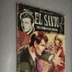 Tebeos: EL SANTO Nº 4: LA IMPOSTORA / LESLIE CHARTERIS / FERMA 1965. Lote 210733595