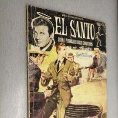Tebeos: EL SANTO Nº 6: LOS BANDIDOS / LESLIE CHARTERIS / FERMA 1965. Lote 210733740