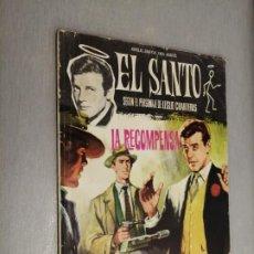 Tebeos: EL SANTO Nº 7: LA RECOMPENSA / LESLIE CHARTERIS / FERMA 1965. Lote 210733857