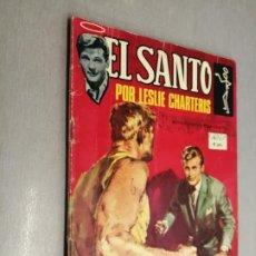 Tebeos: EL SANTO Nº 4: LAS TUMBAS DE KAUAI / LESLIE CHARTERIS / SEMIC 1965. Lote 210737362