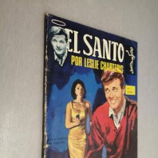 Livros de Banda Desenhada: EL SANTO Nº 2: PLATILLOS VOLANTES / LESLIE CHARTERIS / SEMIC 1965. Lote 210737445