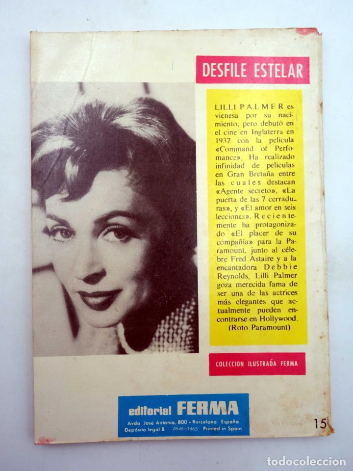 Tebeos: SELECCIONES GRAN OESTE 15. SONRIENDO A LA MUERTE / ESCRITO CON SANGRE. Ferma, 1963. OFRT - Foto 2 - 212162501