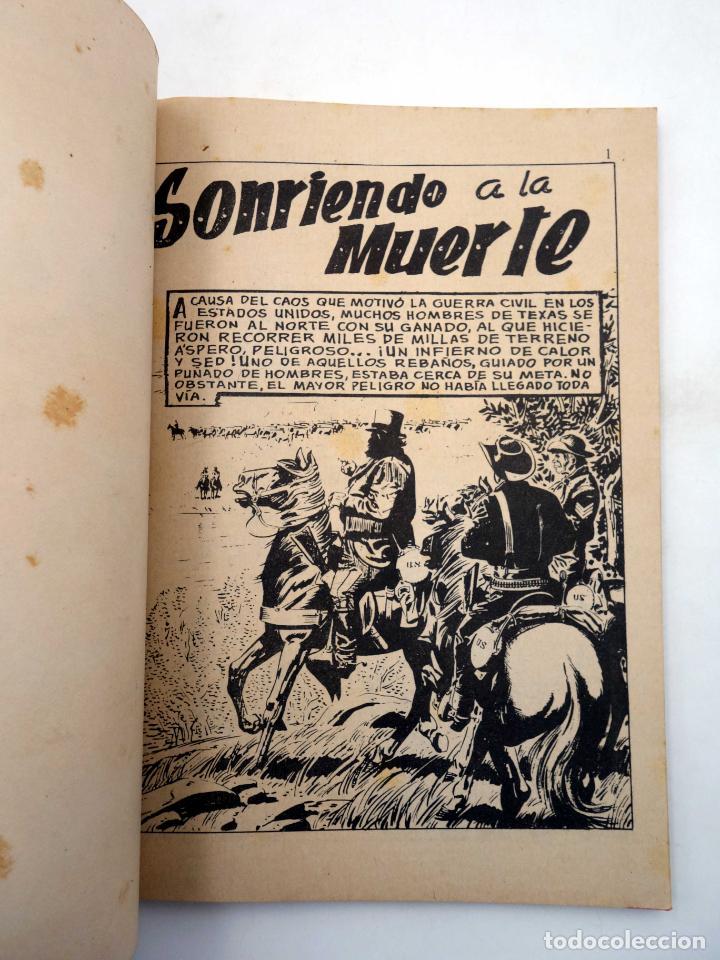 Tebeos: SELECCIONES GRAN OESTE 15. SONRIENDO A LA MUERTE / ESCRITO CON SANGRE. Ferma, 1963. OFRT - Foto 3 - 212162501