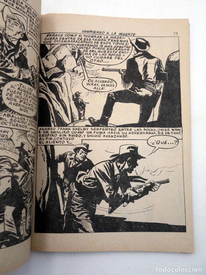 Tebeos: SELECCIONES GRAN OESTE 15. SONRIENDO A LA MUERTE / ESCRITO CON SANGRE. Ferma, 1963. OFRT - Foto 4 - 212162501