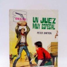 Tebeos: OESTE S/N. UN JUEZ MUY ESPECIAL. OBSEQUIO DETERGENTE HADA (PETER BARTON) FERMA, 1966. OFRT. Lote 220914540
