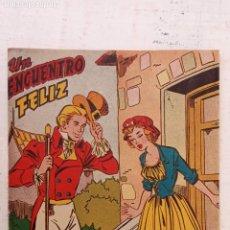 Tebeos: UN ENCUENTRO FELIZ - Nº 42 SELECCIÓN ESPECIAL PARA NIÑAS - EDI. FERMA ORIGINAL. Lote 212262520