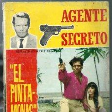 Tebeos: AGENTE SECRETO Nº 19 - EL PINTA-MONAS - FERMA AÑOS 60 - ORIGINAL - VER DESCRIPCION. Lote 212886780