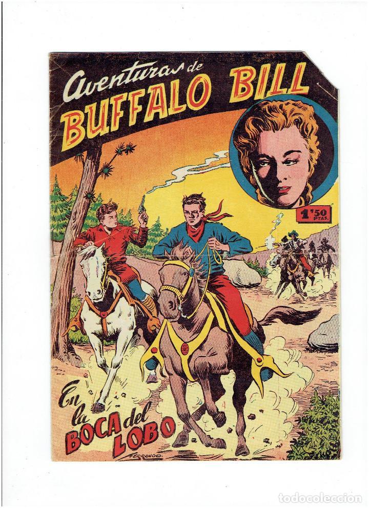 * AVENTURAS DE BUFFALO BILL Nº 5 * TEBEO ORIGINAL 1955 * EXCLUSIVAS FERMA * (Tebeos y Comics - Ferma - Colosos de Oeste)