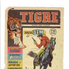 Tebeos: * ANTIGUO CÓMIC TIGRE * Nº 5. LANCEROS BENGALÍES * EXCLUSIVAS FERMA, AÑO 1960 *. Lote 214047188