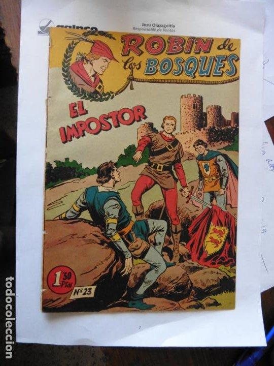 ROBIN DE LOS BOSQUES Nº 23 E FERMA ORIGINAL (Tebeos y Comics - Ferma - Otros)