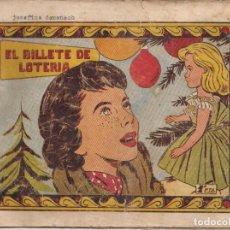 Tebeos: PRINCESITA CAROLINA Nº 109: EL BILLETE DE LOTERIA. Lote 212356928