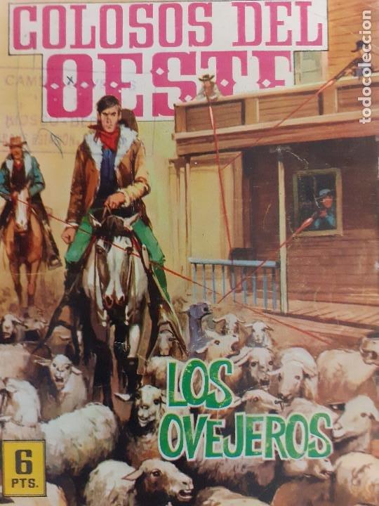 COLOSOS DEL OESTE Nº 71. LOS OVEJEROS. EDITA FERMA 1964 (Tebeos y Comics - Ferma - Colosos de Oeste)