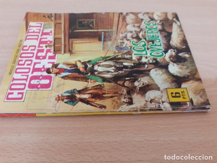 Tebeos: Colosos del Oeste Nº 71. Los ovejeros. Edita Ferma 1964 - Foto 3 - 217155795