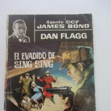 Tebeos: AGENTE 007 JAMES BOND. DAN FLAGG - Nº 13 EDITORIAL FERMA - 1965 CX71 HJJ. Lote 218221982