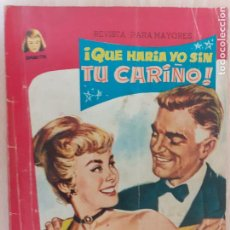 Tebeos: NOVELA ILUSTRADA DAMITA Nº 102. QUÉ HARÍA YO SIN TU CARIÑO. FERMA 1958. Lote 218421822