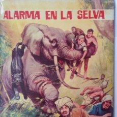Tebeos: AVENTURAS ILUSTRADAS-ALARMA EN LA SELVA. Lote 218731498