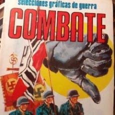 Tebeos: COMBATE-SELECCIONES GRÁFICAS DE GUERRA- Nº 125 -LA BATALLA DE MANDALAY-1981-R.AURALEÓN-BUENO-3830. Lote 219900186