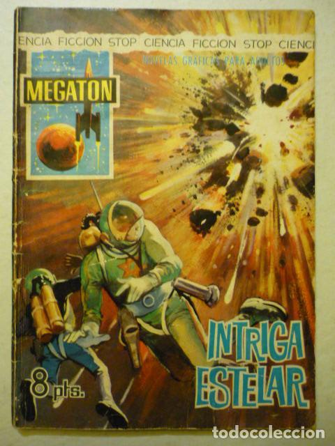 MEGATON Nº 20 - INTRIGA ESTELAR - FERMA 1966 CIENCIA FICCIÓN (Tebeos y Comics - Ferma - Otros)