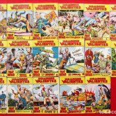 Livros de Banda Desenhada: HOMBRES VALIENTES. TOMMY BATALLA. 17 NÚMEROS DIFERENTES. ED.FERMA. AÑO: 1958. ORIGINALES.. Lote 220568480