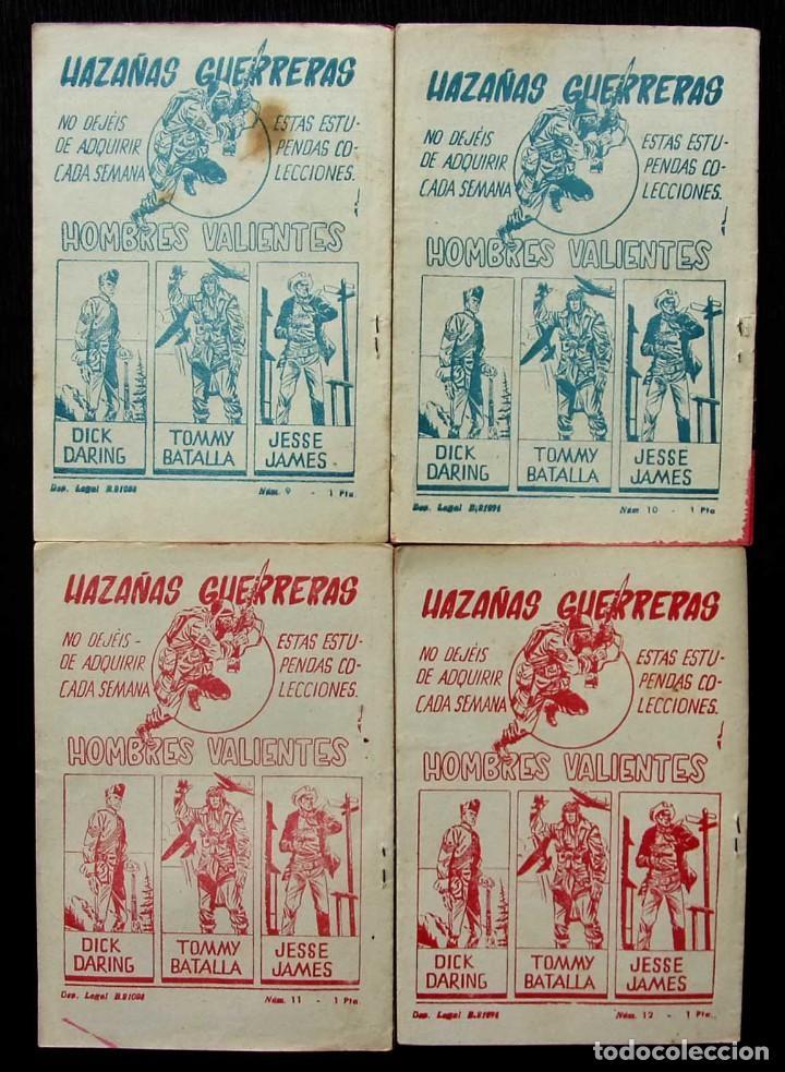 Tebeos: HOMBRES VALIENTES. HONDO. 4 NÚMEROS DIFERENTES. ED.FERMA. AÑO: 1958. ORIGINALES. - Foto 2 - 220585802
