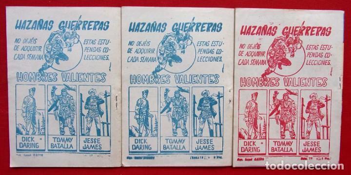 Tebeos: HOMBRES VALIENTES. KIT CARSON. 3 NÚMEROS DIFERENTES. ED.FERMA. AÑO: 1958. ORIGINALES. - Foto 2 - 220597020