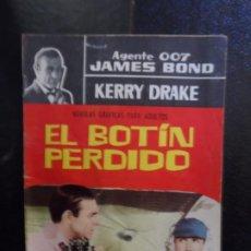Tebeos: AGENTE 007 JAMES BOND NOVELA GRAFICA Nº 23 FERMA 1966. Lote 220696170