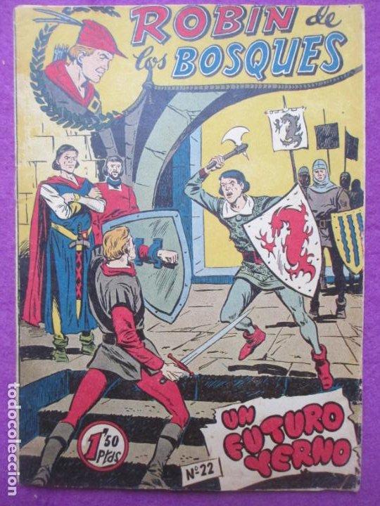 TEBEO ROBIN DE LOS BOSQUES Nº 22 UN FUTURO YERNO ED. FERMA ORIGINAL (Tebeos y Comics - Ferma - Otros)
