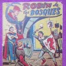 Tebeos: TEBEO ROBIN DE LOS BOSQUES Nº 22 UN FUTURO YERNO ED. FERMA ORIGINAL. Lote 221911963