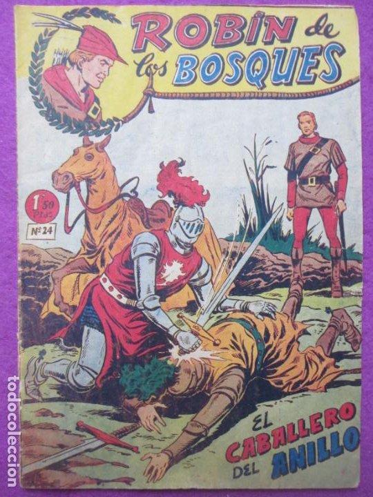 TEBEO ROBIN DE LOS BOSQUES Nº 24 EL CABALLERO DEL ANILLO ED. FERMA ORIGINAL (Tebeos y Comics - Ferma - Otros)