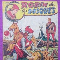 Tebeos: TEBEO ROBIN DE LOS BOSQUES Nº 24 EL CABALLERO DEL ANILLO ED. FERMA ORIGINAL. Lote 221912038