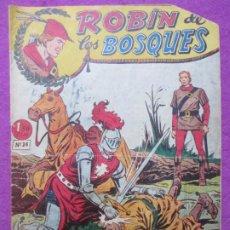 Tebeos: TEBEO ROBIN DE LOS BOSQUES Nº 24 EL CABALLERO DEL ANILLO ED. FERMA ORIGINAL. Lote 221912087