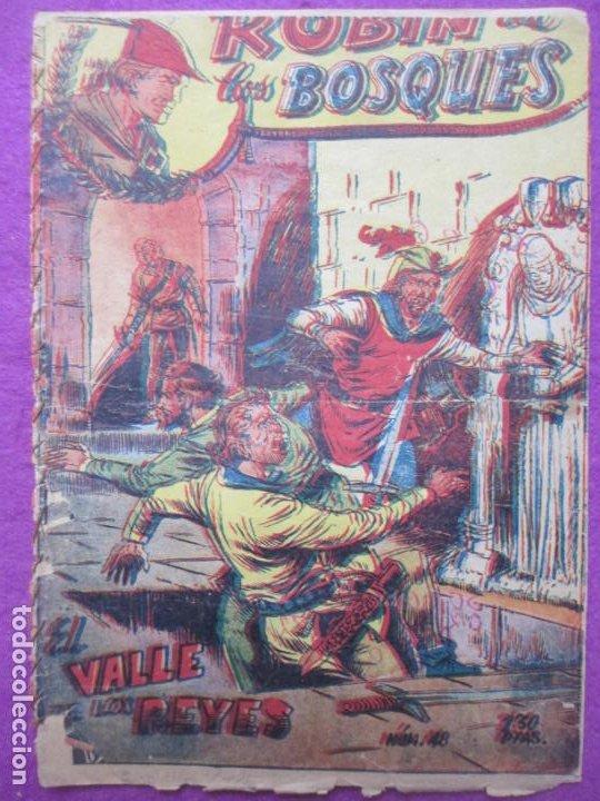 TEBEO ROBIN DE LOS BOSQUES Nº 48 EL VALLE DE LOR REYES ED. FERMA ORIGINAL (Tebeos y Comics - Ferma - Otros)