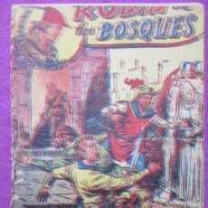 Tebeos: TEBEO ROBIN DE LOS BOSQUES Nº 48 EL VALLE DE LOR REYES ED. FERMA ORIGINAL. Lote 221912211
