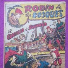 Tebeos: TEBEO ROBIN DE LOS BOSQUES Nº 10 EL CASTILLO DE SHENORD ED. FERMA ORIGINAL. Lote 221912407