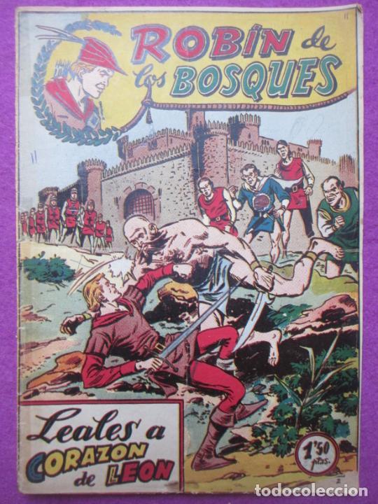 TEBEO ROBIN DE LOS BOSQUES Nº 11 LEALES A CORAZON DE LEON ED. FERMA ORIGINAL (Tebeos y Comics - Ferma - Otros)