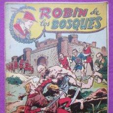 Tebeos: TEBEO ROBIN DE LOS BOSQUES Nº 11 LEALES A CORAZON DE LEON ED. FERMA ORIGINAL. Lote 221912475
