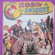 Tebeos: TEBEO ROBIN DE LOS BOSQUES Nº 13 LA ORDEN DEL PRINCIPE JUAN ED. FERMA ORIGINAL. Lote 221912698