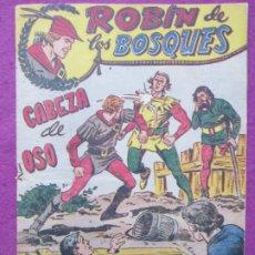 Tebeos: TEBEO ROBIN DE LOS BOSQUES Nº 18 CABEZA DE OSO ED. FERMA ORIGINAL. Lote 221912837