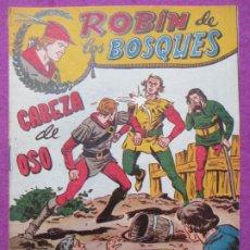 Tebeos: TEBEO ROBIN DE LOS BOSQUES Nº 18 CABEZA DE OSO ED. FERMA ORIGINAL. Lote 221912865