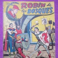 Tebeos: TEBEO ROBIN DE LOS BOSQUES Nº 22 UN FUTURO YERNO ED. FERMA ORIGINAL. Lote 221912901