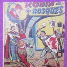 Tebeos: TEBEO ROBIN DE LOS BOSQUES Nº 22 UN FUTURO YERNO ED. FERMA ORIGINAL. Lote 221912968
