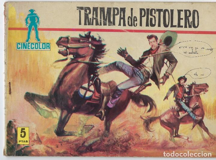 COLECCIÓN CINECOLOR: TRAMPA DE PISTOLERO - Nº1 - AÑO 1963 ** EDITORIAL FERMA ** (Tebeos y Comics - Ferma - Otros)