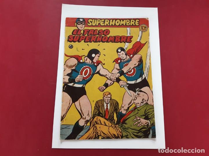 SUPERHOMBRE (FERMA) Nº 58 ORIGINAL (Tebeos y Comics - Ferma - Otros)