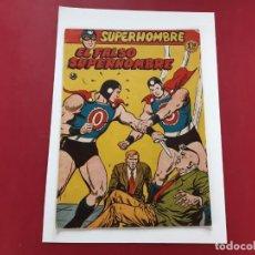 Tebeos: SUPERHOMBRE (FERMA) Nº 58 ORIGINAL. Lote 222464925